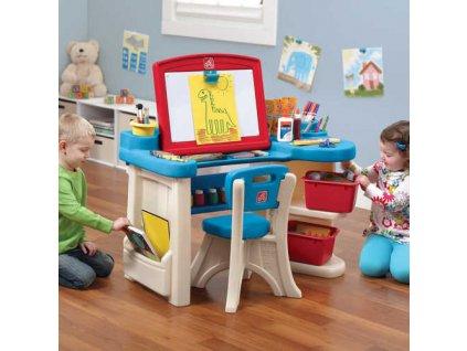 dětský psací stůl,stoleček,stůl na kreslení