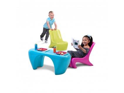 Step2 Dětský stůl se židlemi Junior Chic - StepTwo.cz