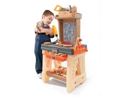 dětská luxusní dílna, dětská dílna s nářadím, dětský ponk