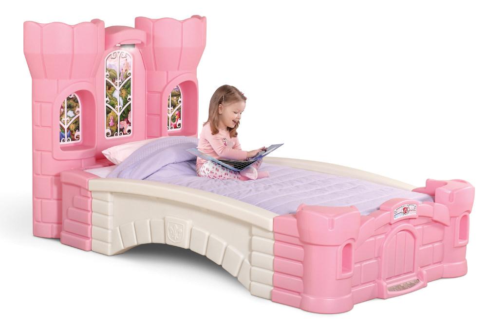 ecca015e4467 STEP2 Postel Pohádkový hrad snů