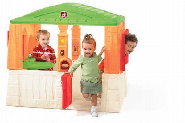 STEP2 Dětský domeček Neat Tidy - oranžový