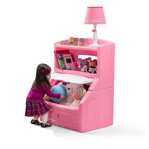 STEP2 Skříňka na hračky růžová
