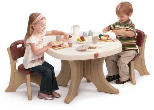 3bb06cd5fb2 STEP2 Dětský stůl se židlemi New Traditions
