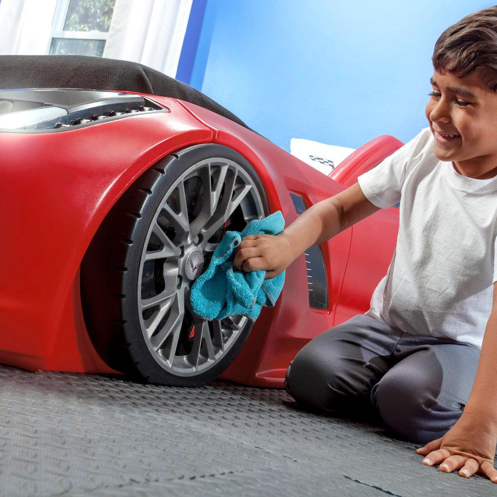 STEP2 Dětská postel auto Corvette