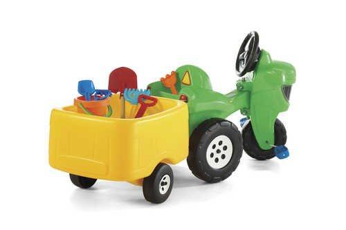 STEP2 Šlapací traktor s přívěsem