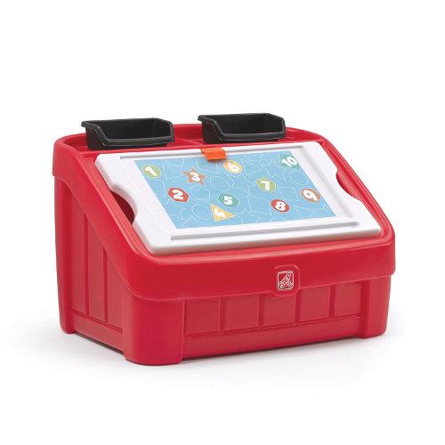 Step2 Box na hračky 2v1 červený