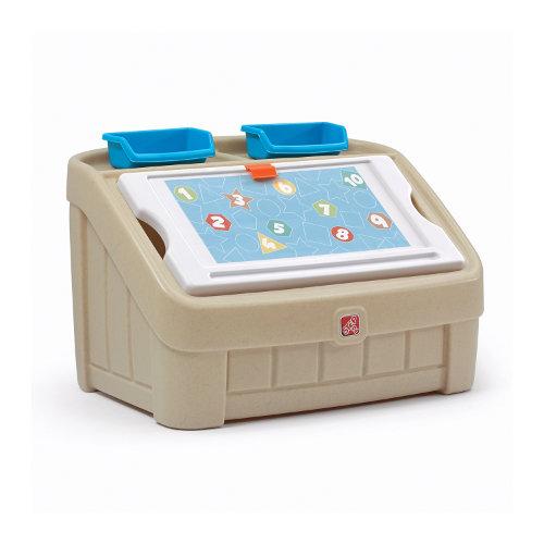 STEP2 Box na hračky 2v1 béžový