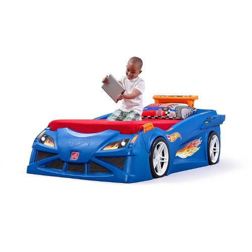 STEP2 Dětská postel auto Hot Wheels