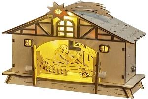 Vánoční LED betlémy