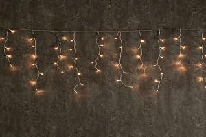 Vánoční světelné závěsy