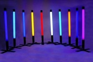 Barevné zářivky