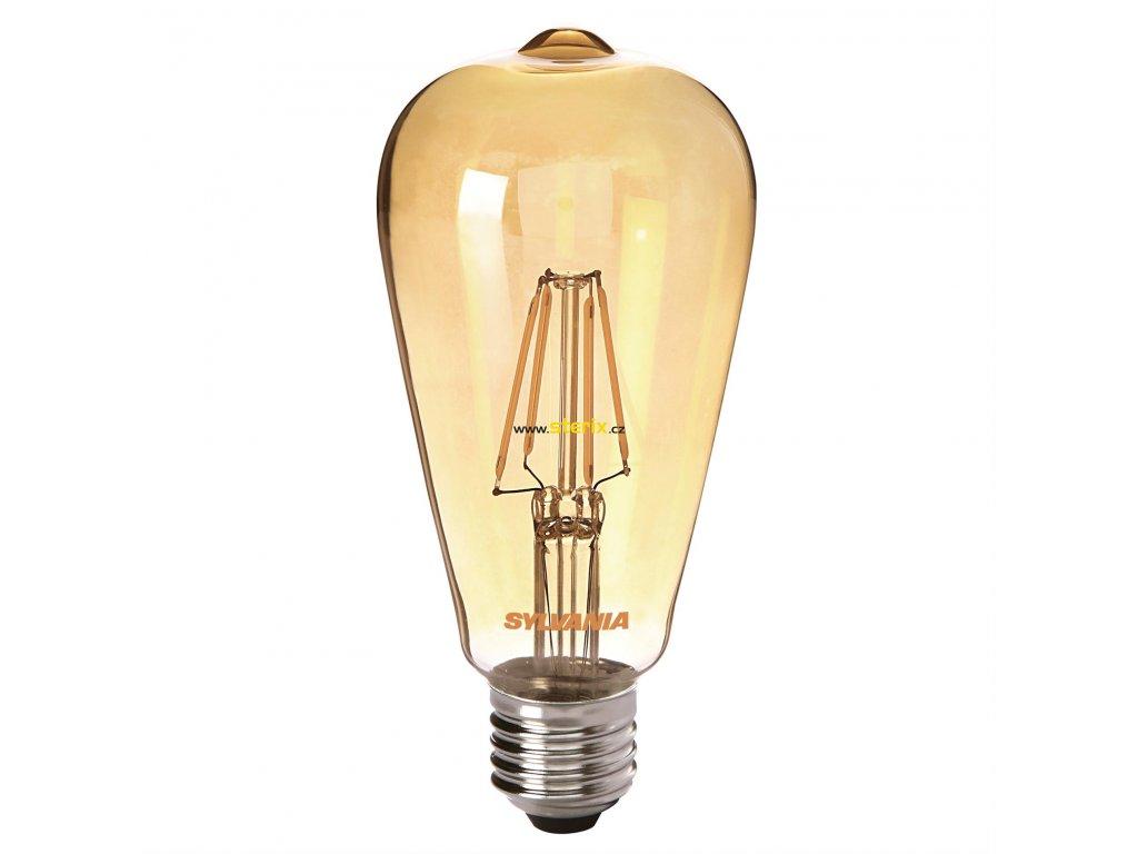 Retro LED žárovka ToLEDo RT ST64 V3 GL 420Lm 825 E27 SL
