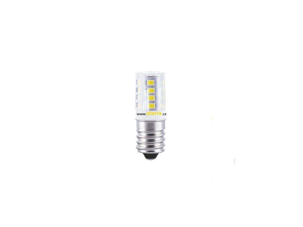 SMD LED Mini žárovka 1W/E14/230V/Yellow/140Lm/360°