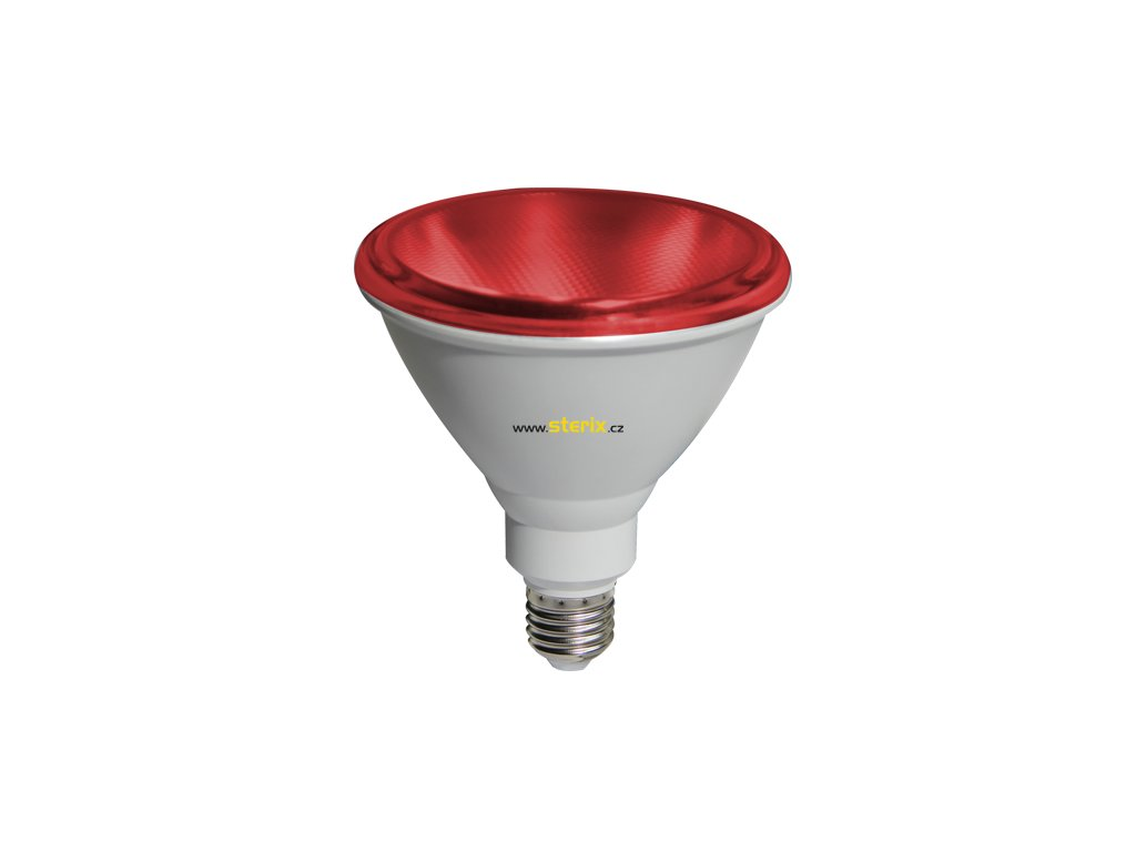 SMD RefLED PAR38 10W/230V/E27/Red/890Lm/45°/IP65