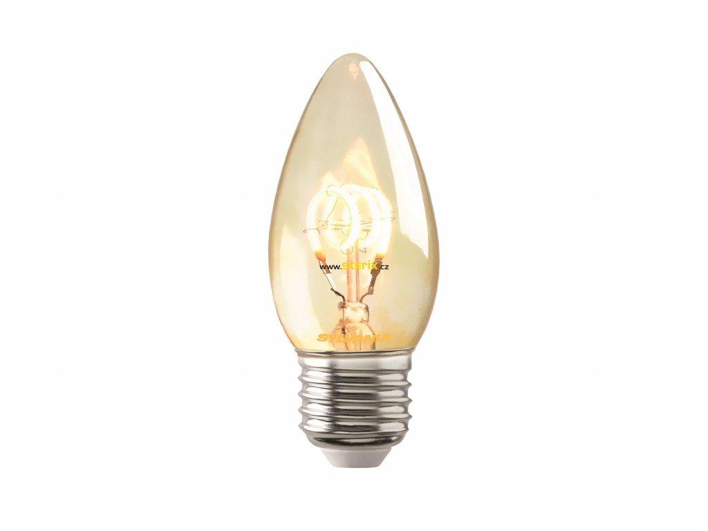 Retro LED žárovka ToLEDo™ VINTAGE CANDLE 125Lm E27 SL