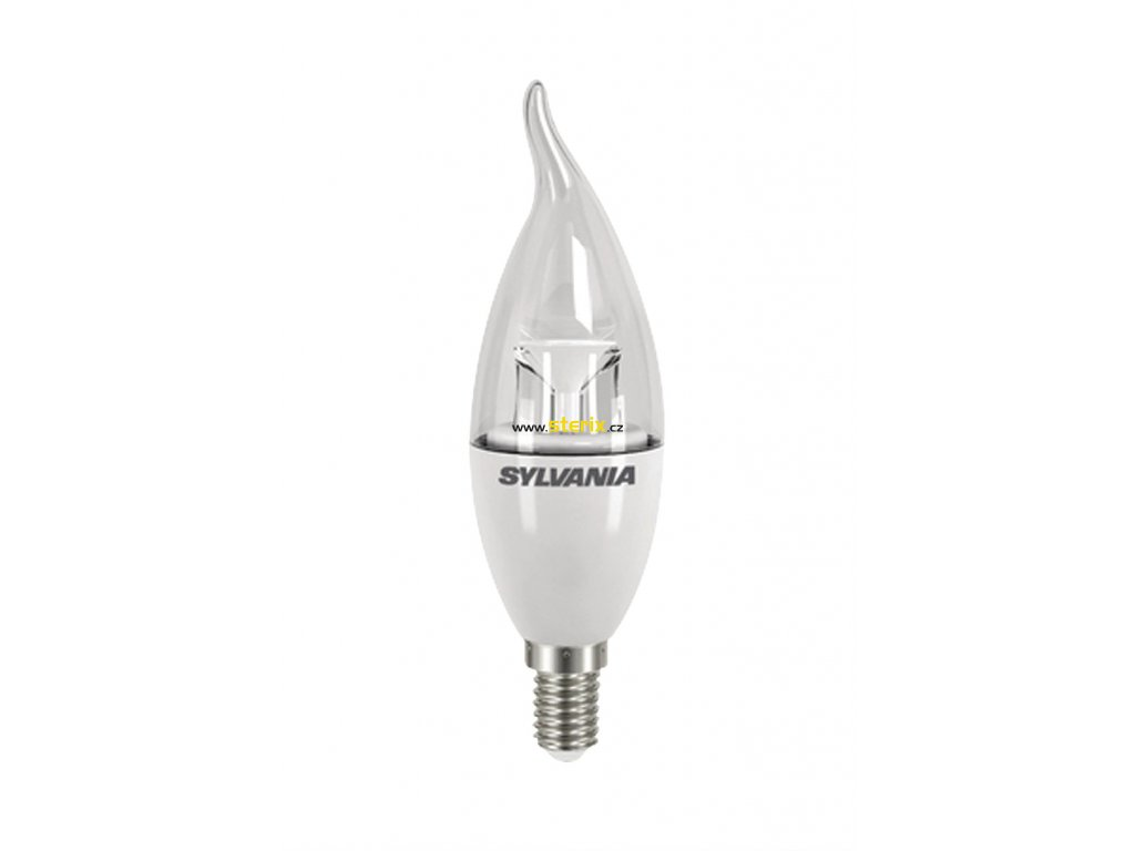 LED žárovka E14 ToLEDo Bent Tip CL 470Lm E14 SL