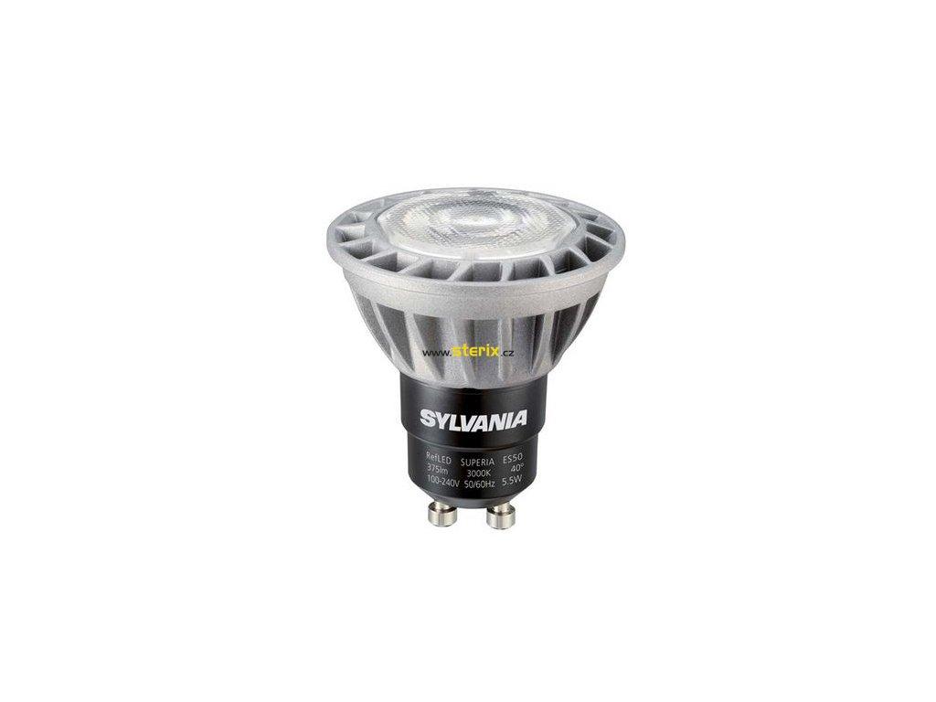 LED žárovka GU10 RefLED Superia ES50 V2 5,5W 420Lm 4000K 40° SL