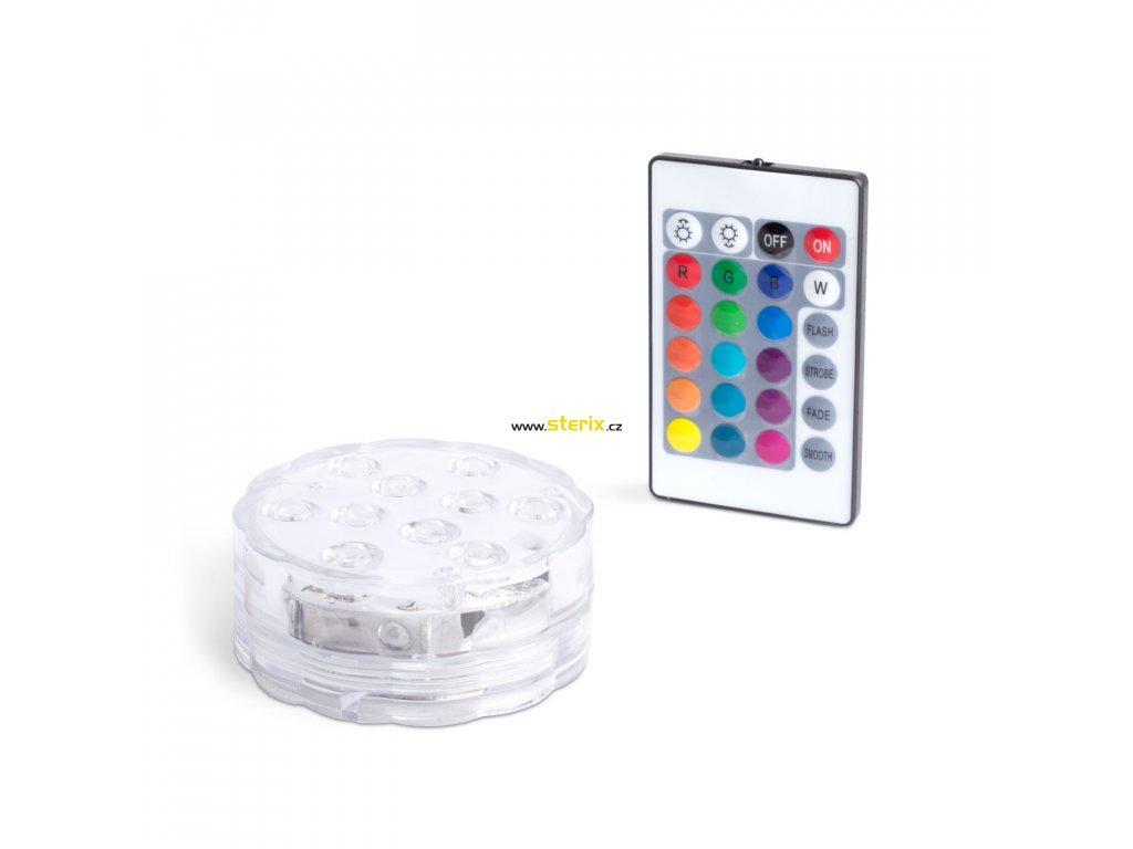 LED svítidlo do bazénu RGB/110Lm/IP68 multicolor na 3x AAA baterie