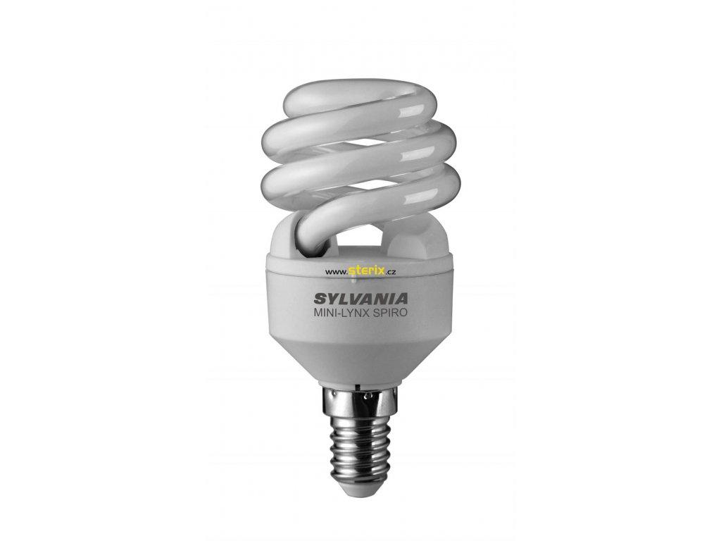 Úsporná žárovka SPIRAL T2 8W/827/E14