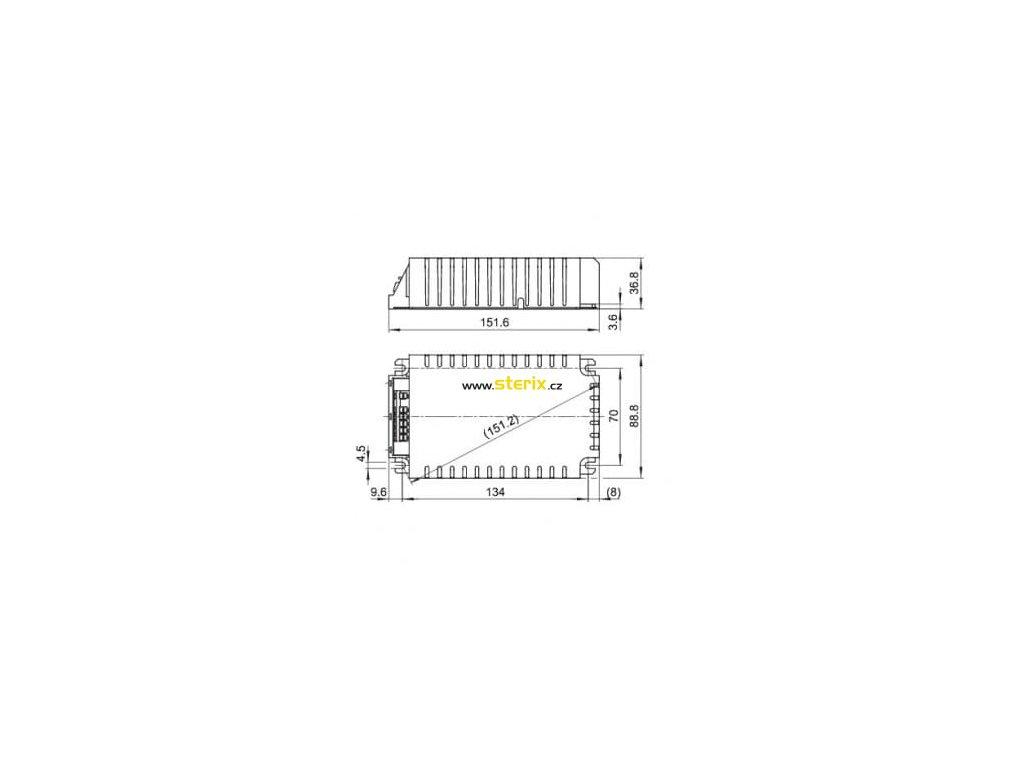 Elektronický předřadník EHXc 150.334