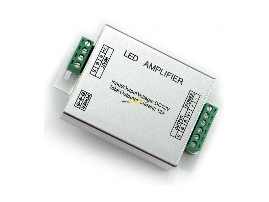 LED Amplifier 144W/12V DC/12A pro  RGB LED PAR56 20W