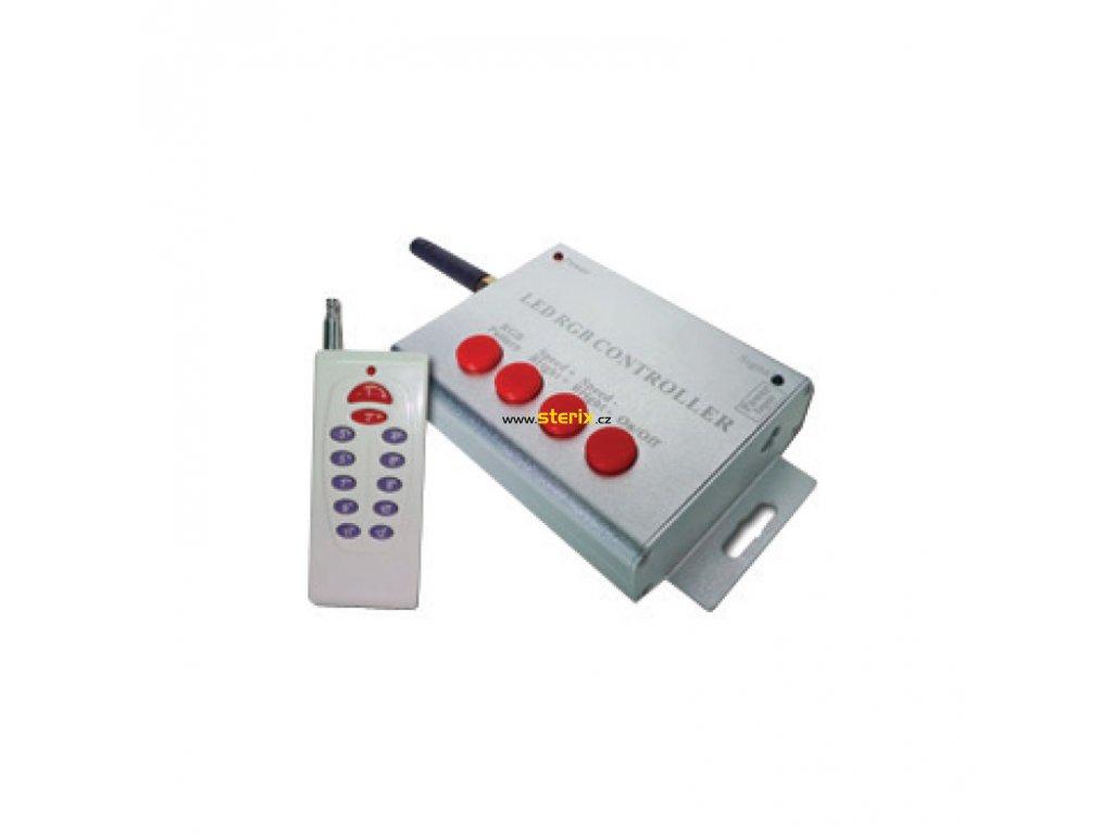 Dálkový ovladač a controller pro RGB LED PAR56 20W/12V AC