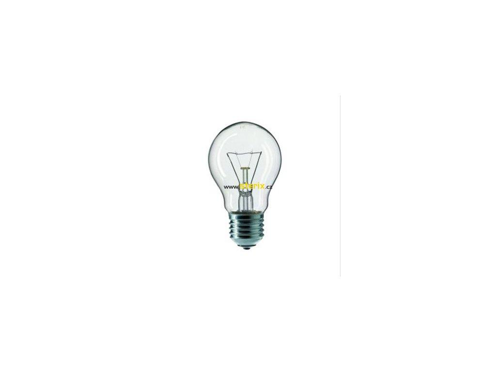 Žárovka čirá A55 75W/230V/E27