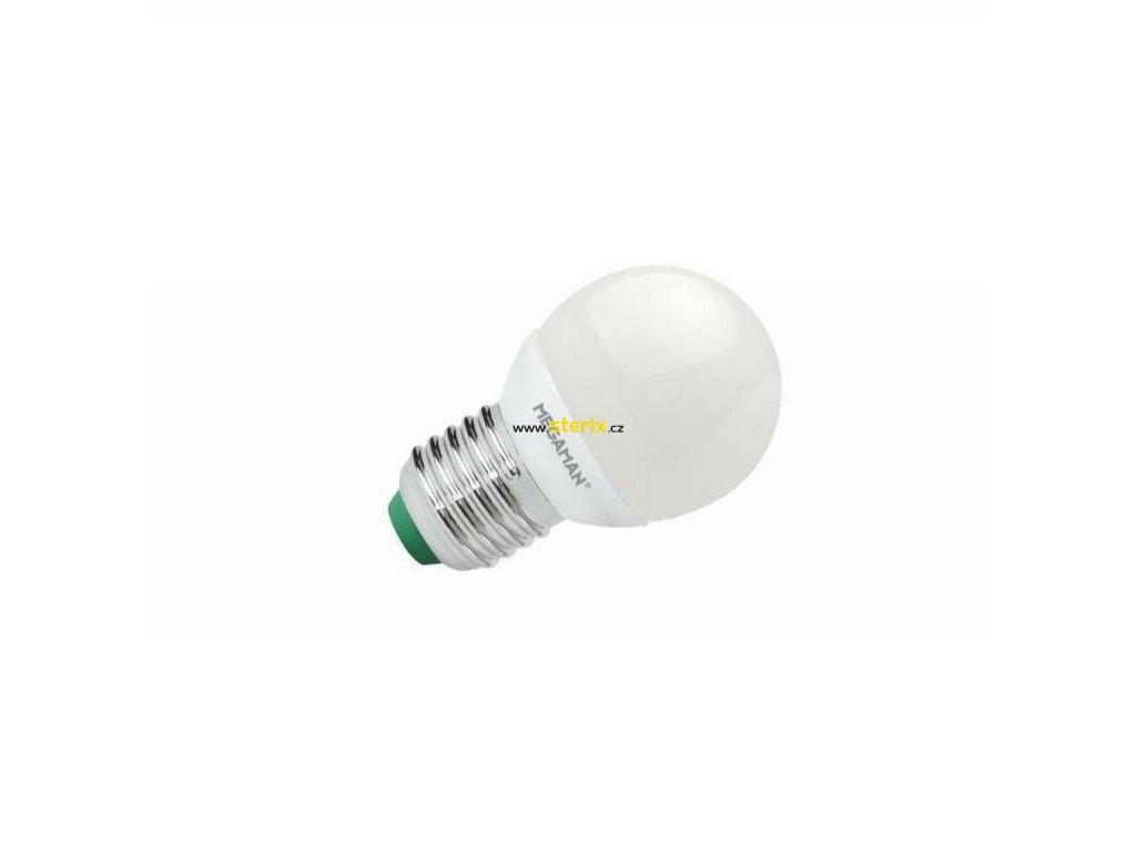 LED Lustre P45 5.5W/40W E27 4000K 470lm NonDim 15Y opal