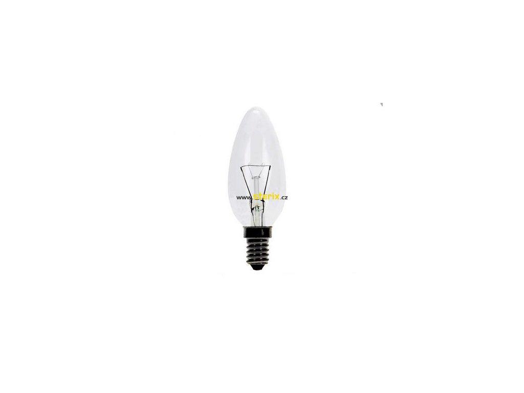 Svíčková žárovka čirá 40W/E14/270Lm čirá