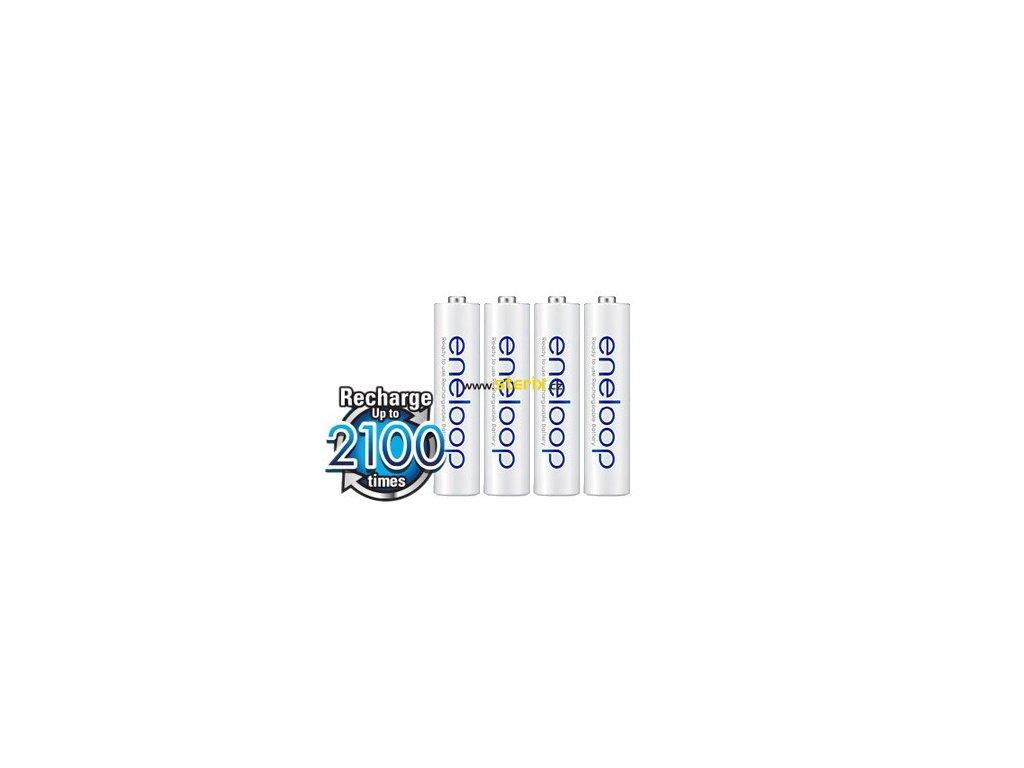 Baterie AAA/HR03 800mAh Panasonic ENELOOP 4ks (bulk)