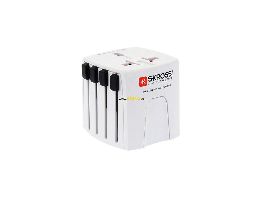 Cestovní adaptér MUV Micro, 2.5A max., univerzální pro 150 zemí