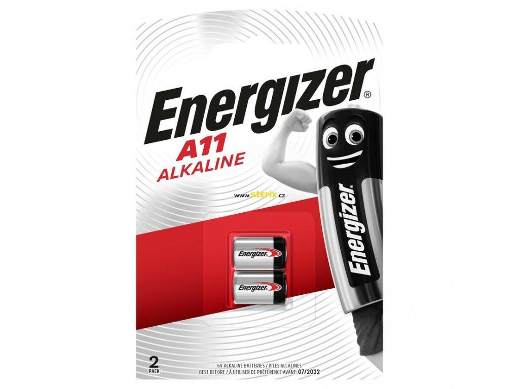 Baterie 6V/38mA E11A ENERGIZER 2ks (blistr)