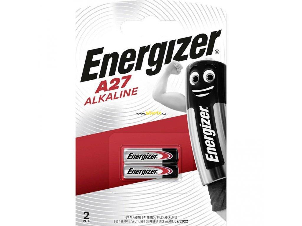 Baterie 12V A27 ENERGIZER 2ks (blistr)