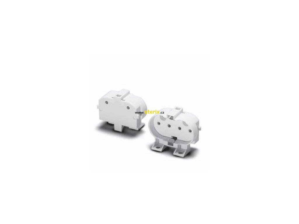 Objímka patice 2G11 typ 36051, bílá