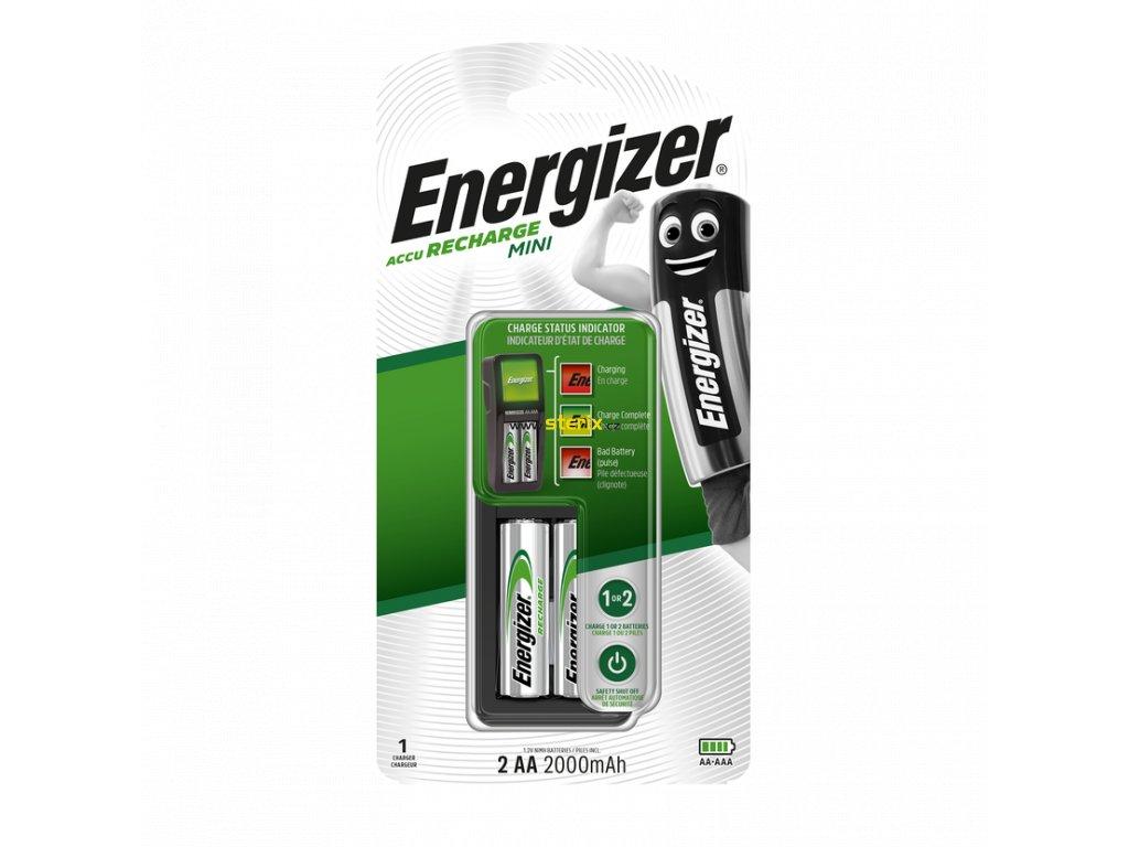 Nabíječka baterií Energizer Charger Mini + 2 AA Power