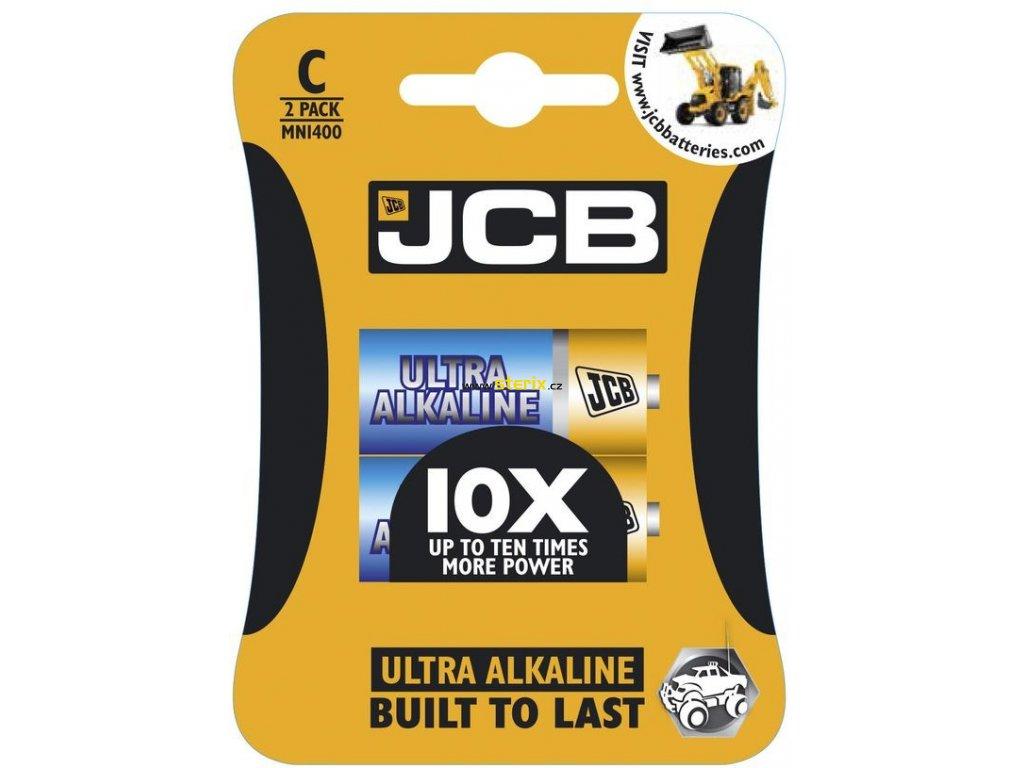 Baterie LR14/C JCB CB OXI ULTRA 2ks (blistr)