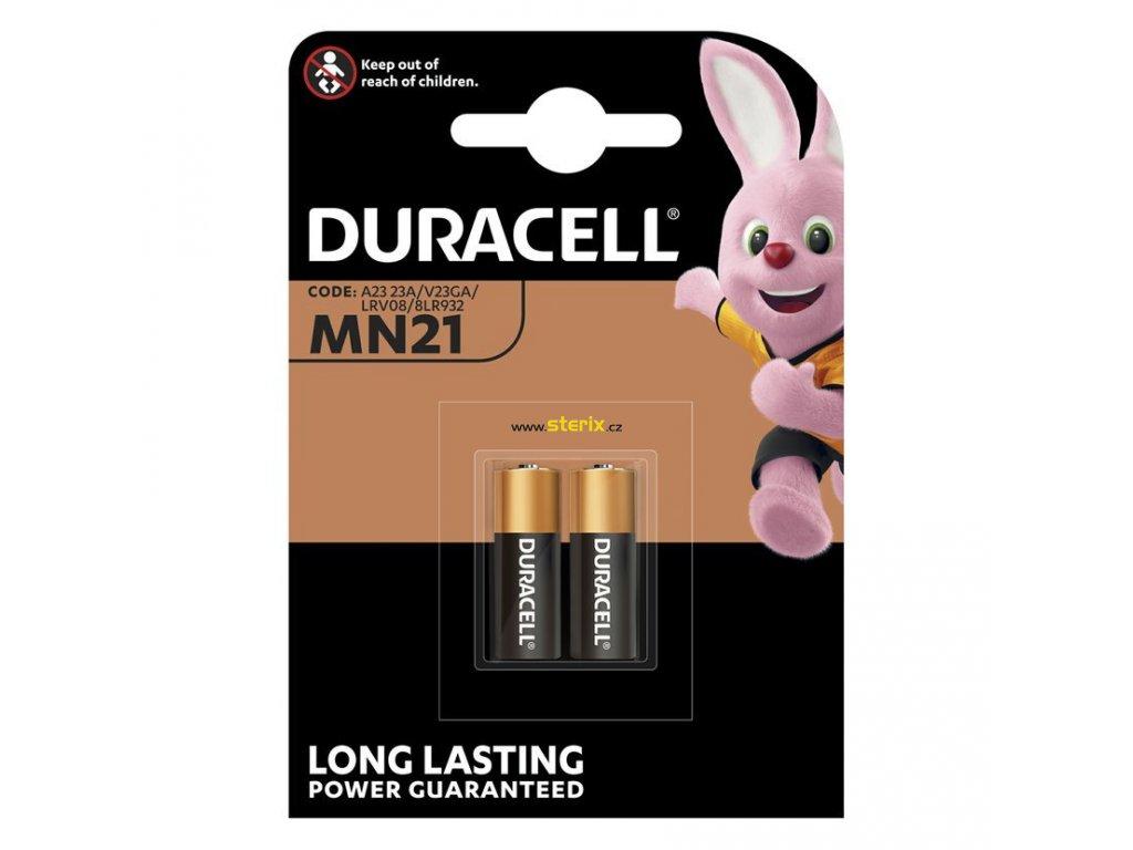 Baterie 12V A23/MN21 DURACELL Security 2ks (blistr)
