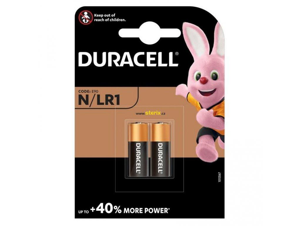 Baterie 1,5V E90/LR1 DURACELL Security 2ks (blistr)