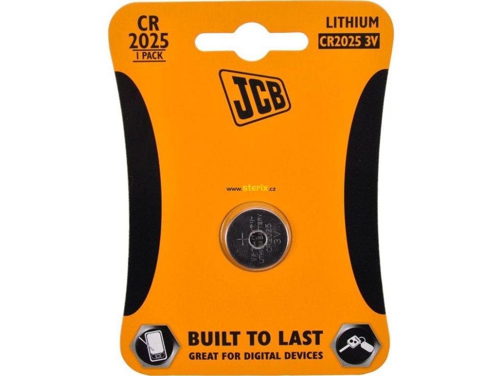 Baterie 3V CR2025 JCB 1ks (blistr)