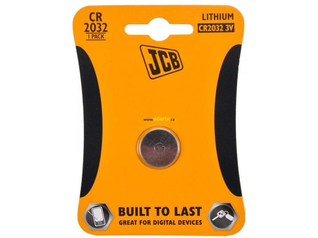 Baterie 3V CR2032 JCB 1ks (blistr)