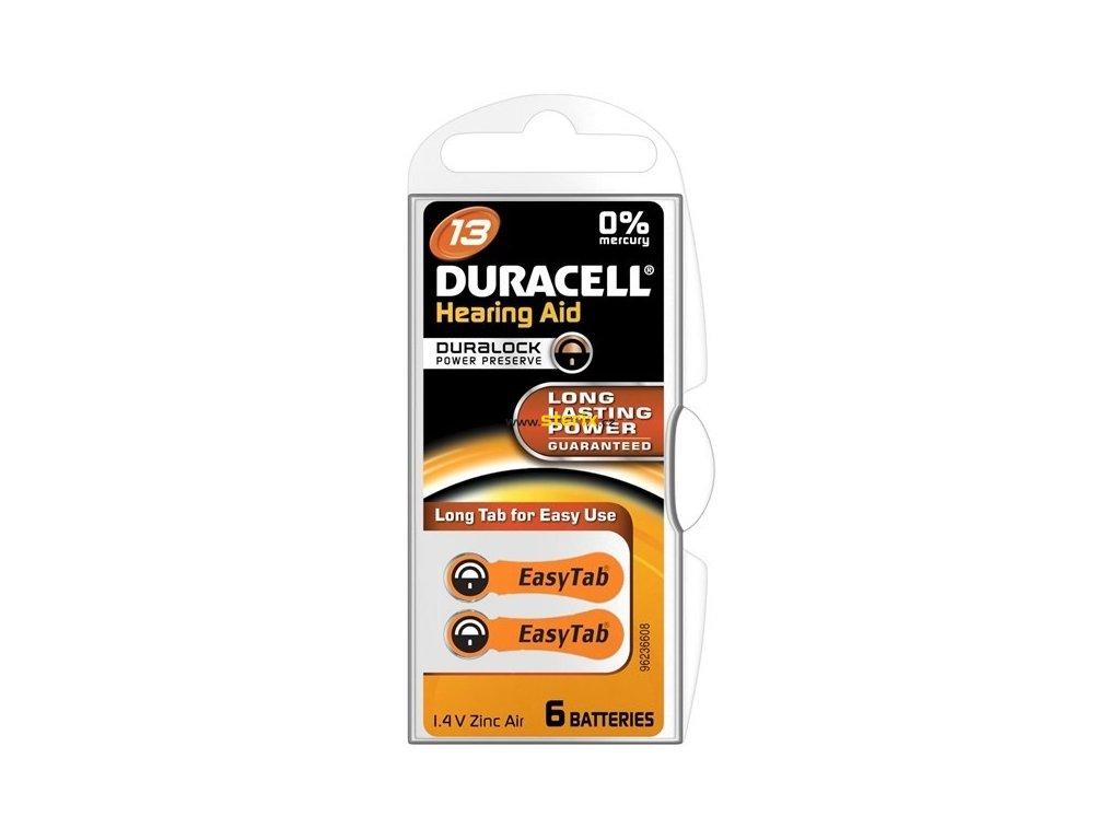 Baterie 13 DURACELL 6ks (blistr)