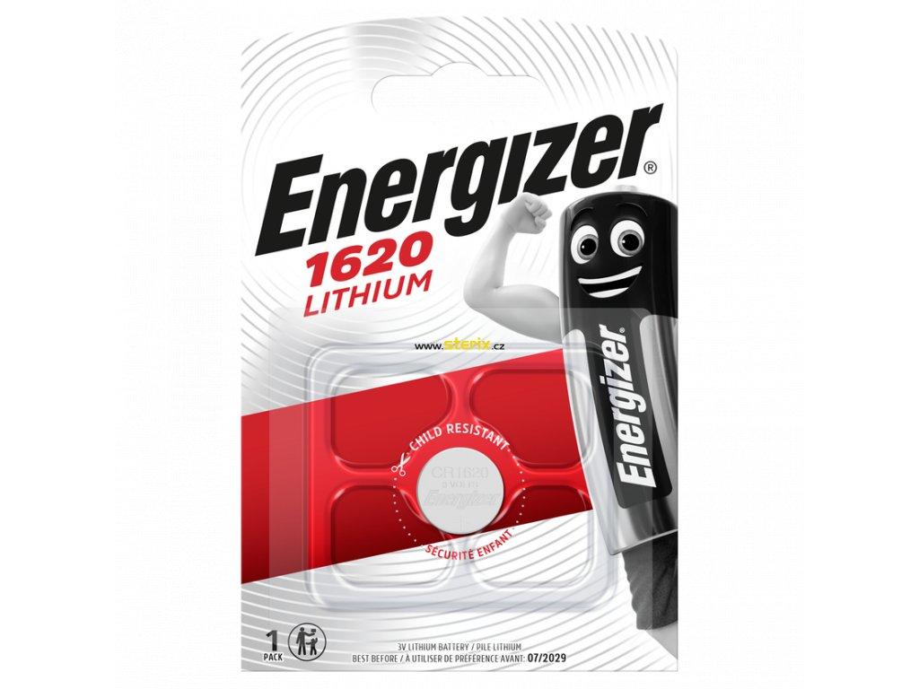 Baterie 3V CR1620 ENERGIZER 1ks (blistr)