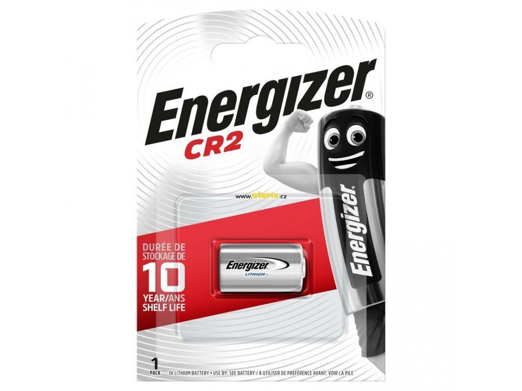Baterie 3V CR2 ENERGIZER 1ks (blistr)