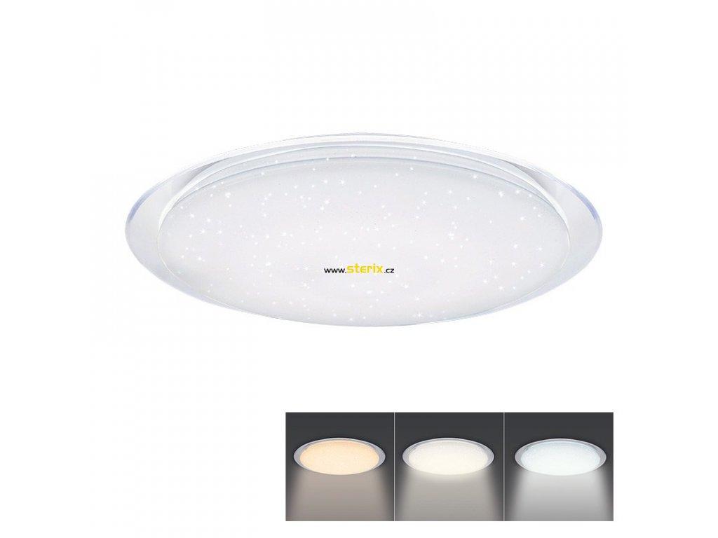 LED přisazené svítidlo GALAXY 18W/230V/1350Lm/3000-6500K/IP20 kruhové bílé