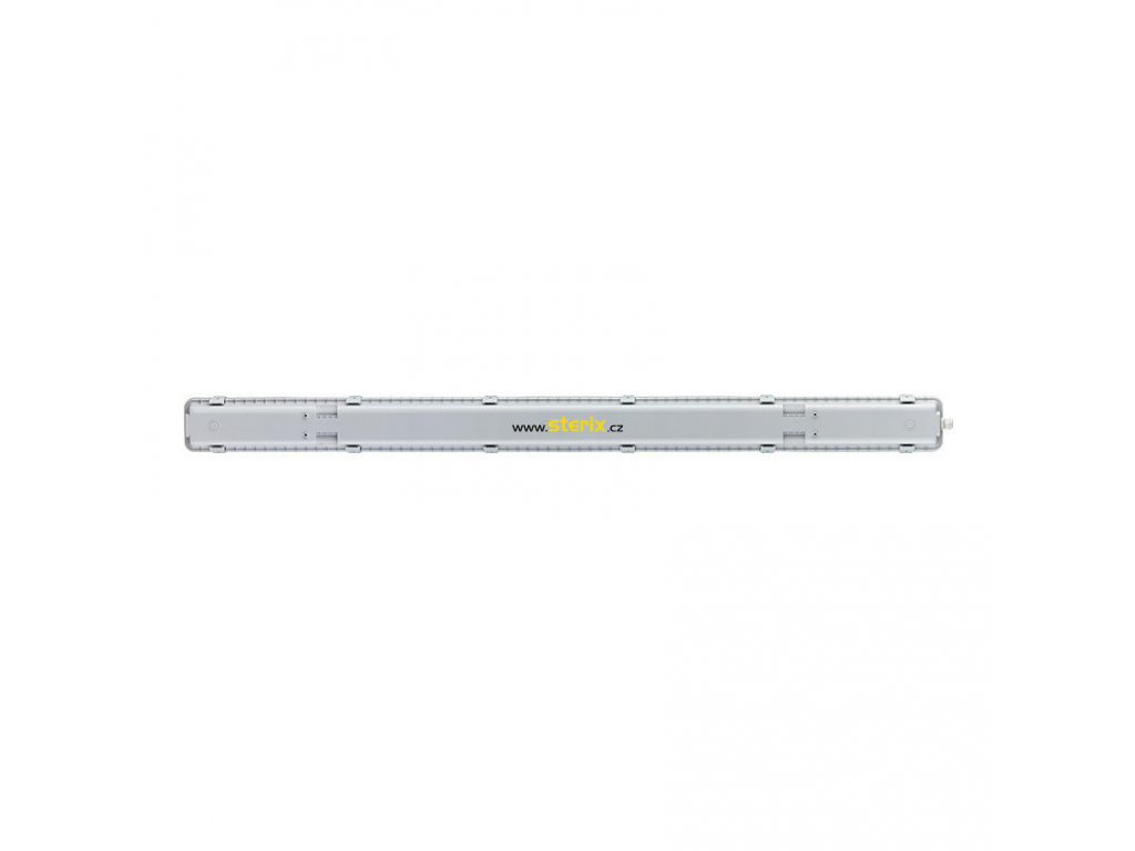 LED lineární prachotěsné svítidlo 36W/230V/4200Lm/5000K/IP65/Lifud, 123cm, šedé