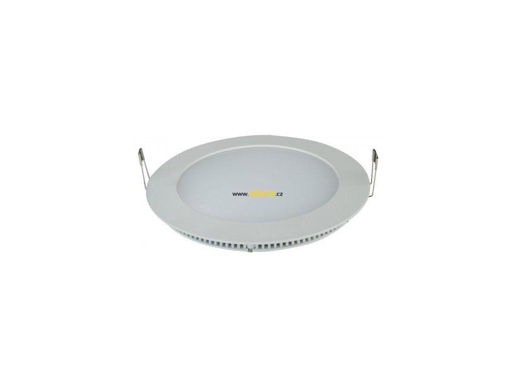 LIRAN LED 6W/4000K/IP44 kulaté bílé svítidlo do podhledu, studená bílá