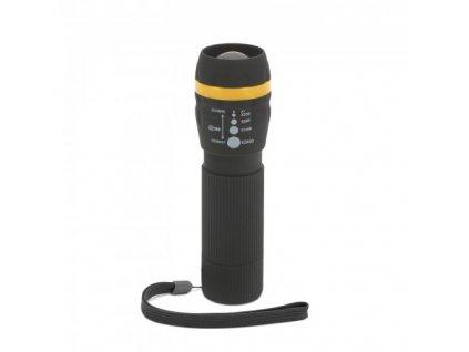 LED ruční svítilna s fokusem na 3x AAA baterie