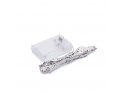 LED pásek GM 1m, 30LED/m, IP20, RGB, na 3 x AA baterie