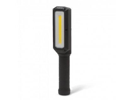 LED pracovní svítilna PHENOM s magnetem, na zavěšení 8W/800Lm/IP54 na 3x AA baterie