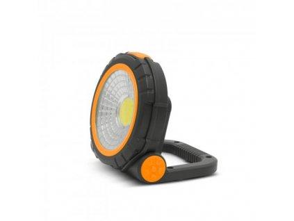 LED pracovní svítilna PHENOM s magnetem a sklopným podstavcem 2W/160Lm, na 3x AAA baterie